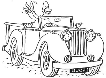 Duck in the Truck Colour-In