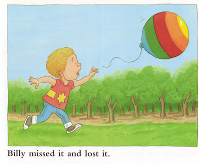 Billy Loses the Balloon